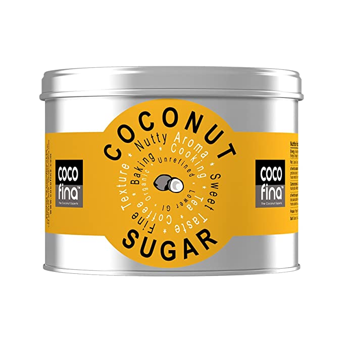 Cocofina Organic Natural Coconut Palm Sugar 500 G Tin by Cocofina