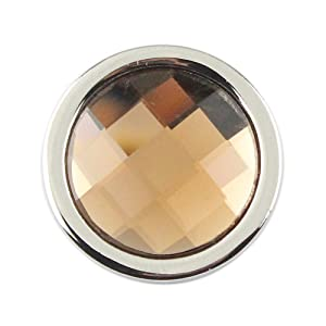 Glinkin Mosaic Glasss Disc Interchangeable 33mm Mi Coin Pendant for 35mm Moneda Holder Locket Necklace (GLHC037A)