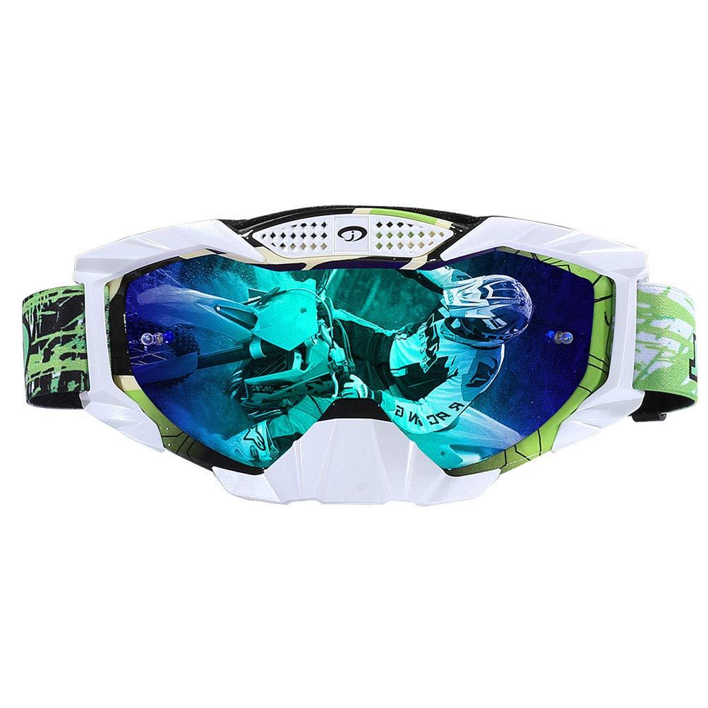 GYFSLG Occhiali Protettivi Parabrezza per Motociclismo Outdoor Equitazione Sci Anti-Nebbia Anti-Nebbia Calda Miopia Persone Disponibili