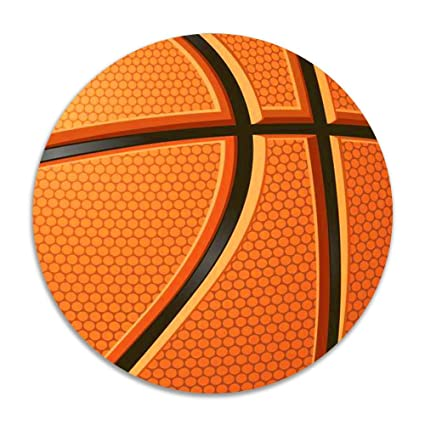 Amazon.com  Tvsuh-u Basketball Anti-slip Round Chair Pads Soft Stool Cushion Pad Office Chairs Stool Slipcover Dia 15 Inch  Garden u0026 Outdoor  sc 1 st  Amazon.com & Amazon.com : Tvsuh-u Basketball Anti-slip Round Chair Pads Soft ...