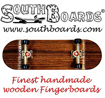 SOUTHBOARDS® Handmade Wood Fingerboard Deck #2 Natur Holz