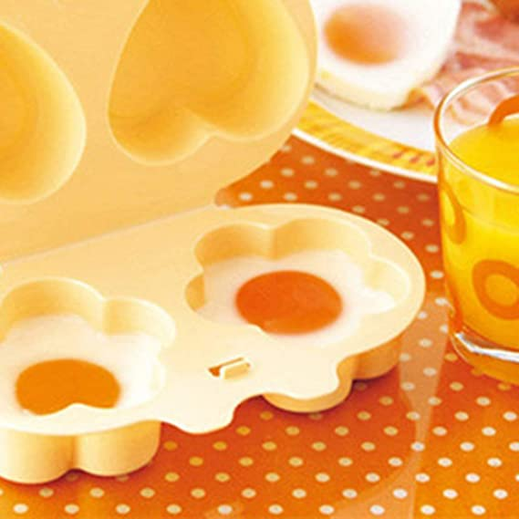 Cazador furtivo del huevo de microondas para cocinar huevos ...