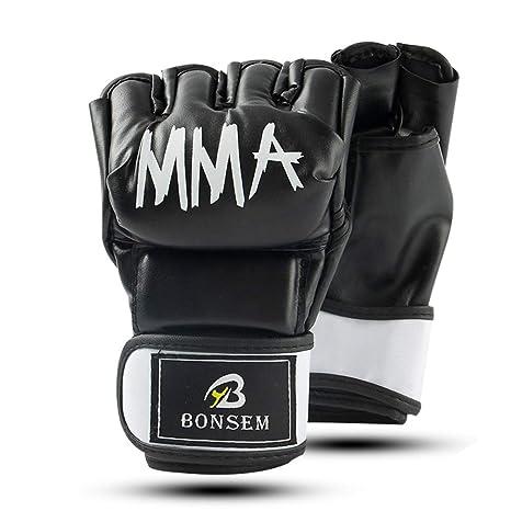 BAIEPING Guantes de Boxeo para Artes Marciales, Muay Thai, Boxeo ...