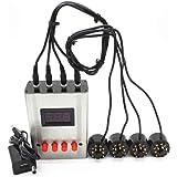 EL34 KT88 6L6 6CA7 6V6 5881 6550 KT66 KT100 KT120 Vacuum Tube Tester Amplifier Bias Current Tool Radio Preamp mA Version V8