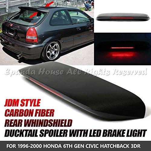 Civic 3dr Carbon Fiber Spoon - 6