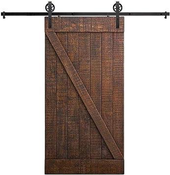 Carril de servicio pesado resistente madera de la puerta de ...