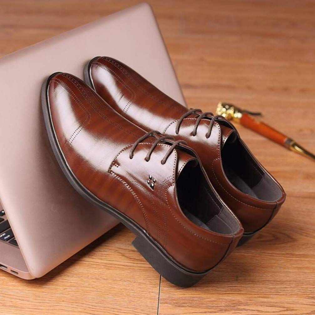 Phil Betty Mens Business Dress Shoes Rubber Outsole Comfortable Oxfords Shoes by Phil Betty (Image #6)