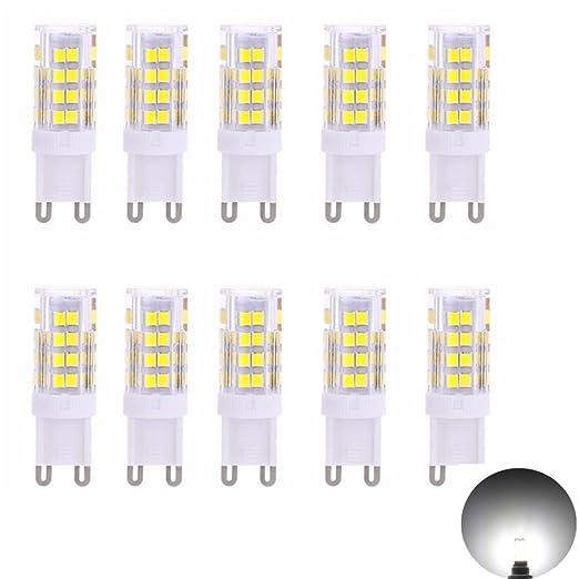 G9 Bombilla LED Bombilla 5 W, recambio para halógeno de 40 W Lámpara, Bombilla de bajo ...
