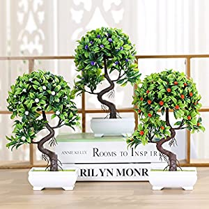 FlowersMagnate Creative simulation plants potted artificial flower pot decoration home decoration furniture coffee table table TV stand decoration 89