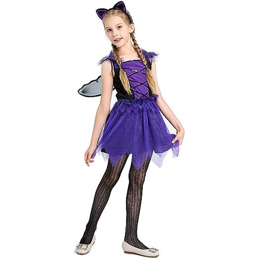 ZED- Disfraz Bruja de Halloween para Niñas Cosplay Niña Halloween ...