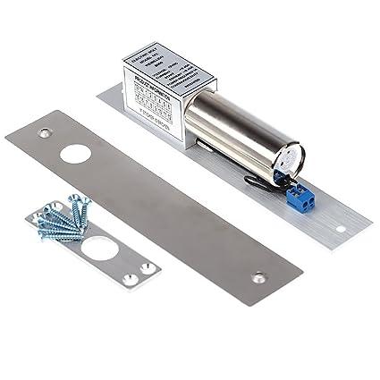 Perno Anself eléctrica para cerradura cilíndrica de puerta DC Drop 12 V inducción magnética Función de