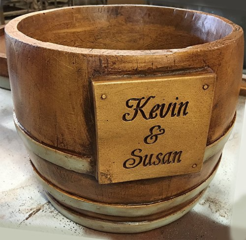 Wine Barrel Personalized Chiller (Personalized Wine Bucket)