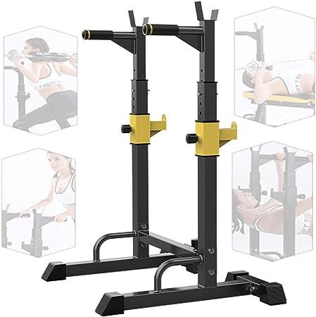 le bureau le fitness installation sans vis barre de traction r/églable avec charge maximale de 199,6 kg pour la maison le garage Leku Barres de traction