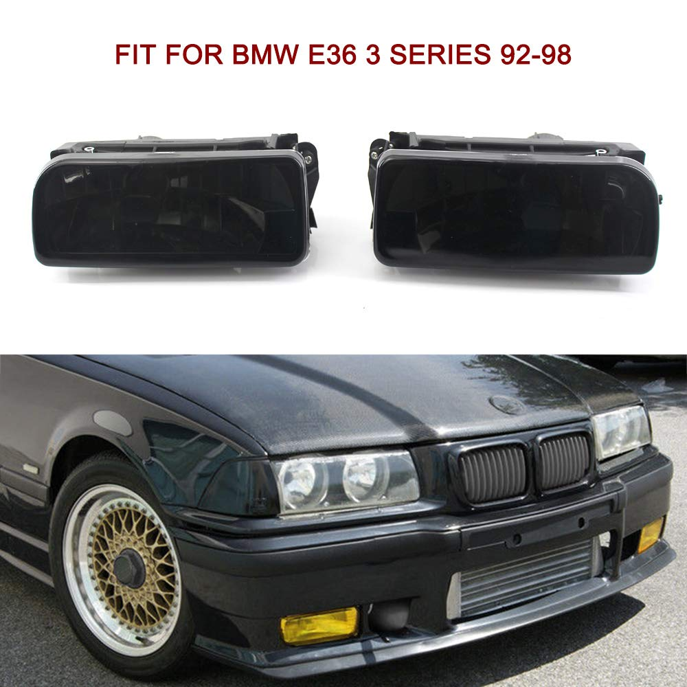 Tickas Phare anti-brouillard phares antibrouillard au volant pour BMW E36 1992-1998