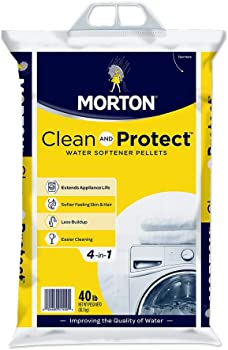 Morton 40-Pound Clean and Protect II Water Softening Pellets