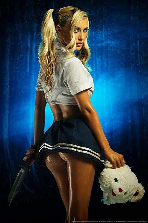 Quiet School Girl by Daveed Benito inch Poster 24x36 inch