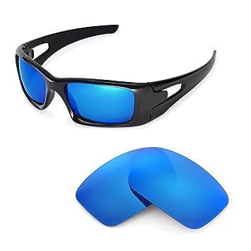 Walleva Ersatzgläser für Oakley Crankcase Sonnenbrille - Mehrfache Optionen (24K Gold Mirror Zieht - Polarisierte) Sqjbu9rai