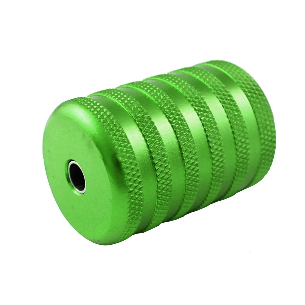 ITATOO® 35MM 1 1/2 Aluminum Tattoo Grip Tubes Thick (Green)