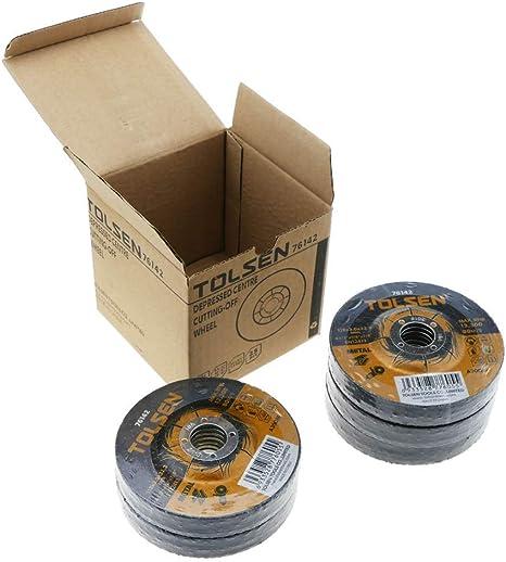 Disco de cortar de amoladora para metal 115 x 3 x 22.2 mm 25-pack ...