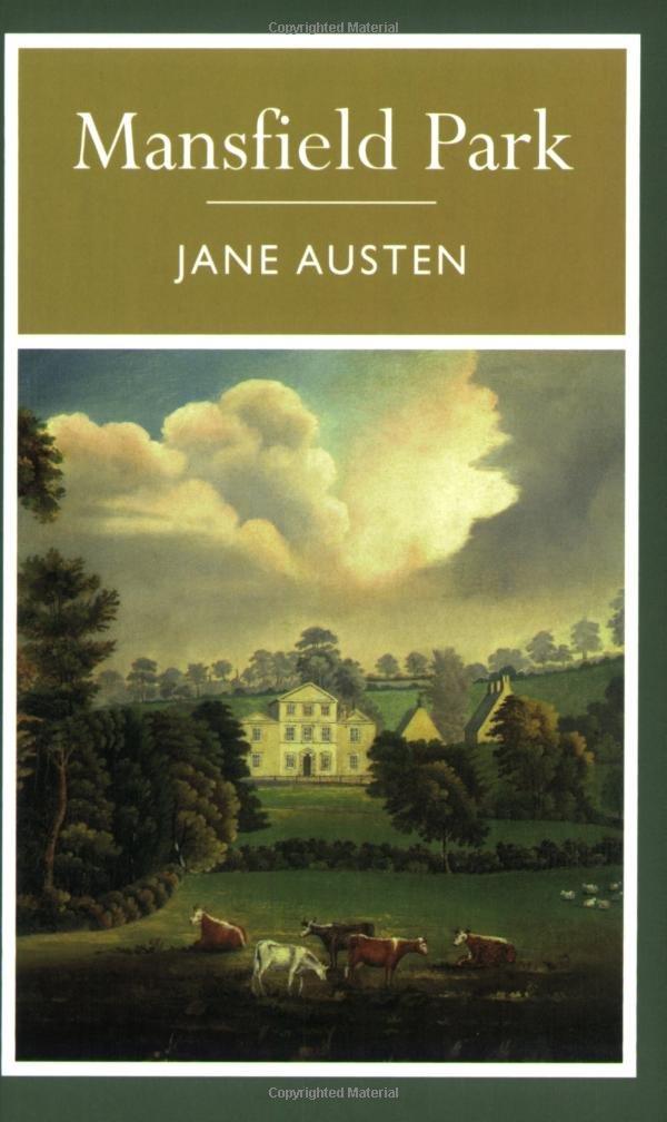 Mansfield Park Jane Austen 9781848373112 Literature Amazon Canada