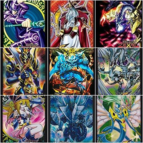 [LightningStore 50 Yugioh Card Sleeves - Dark Magician Girl - Obelisk - Slifer - Ra - Osiris - FGD - Black Luster Soldier - Odin - Stardust Dragon - And Many] (Dark Souls Black Knight Costume)