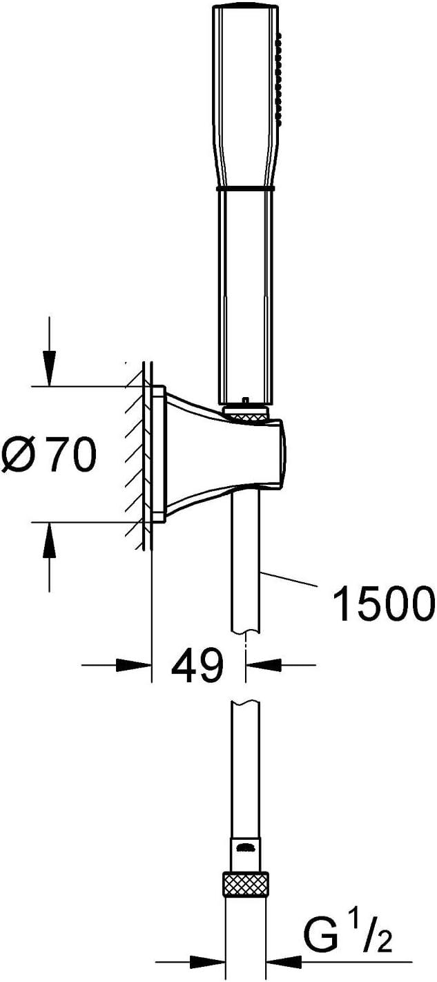Grandera Stick conjunto de ducha 7,6l Ref Grohe Rainshower 27993000