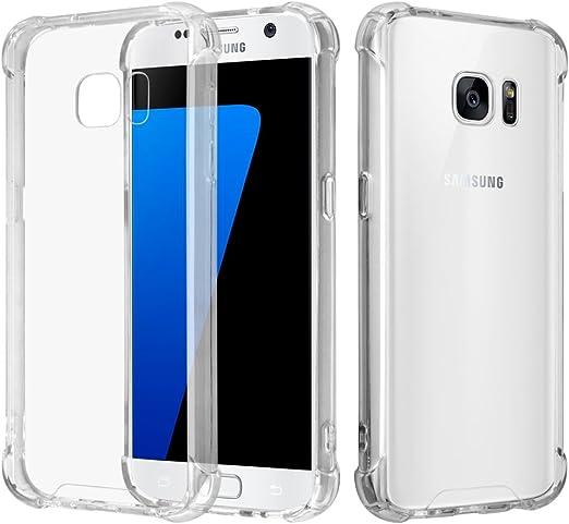 Funda para Galaxy S7 – Funda Protectora de Silicona Suave ...