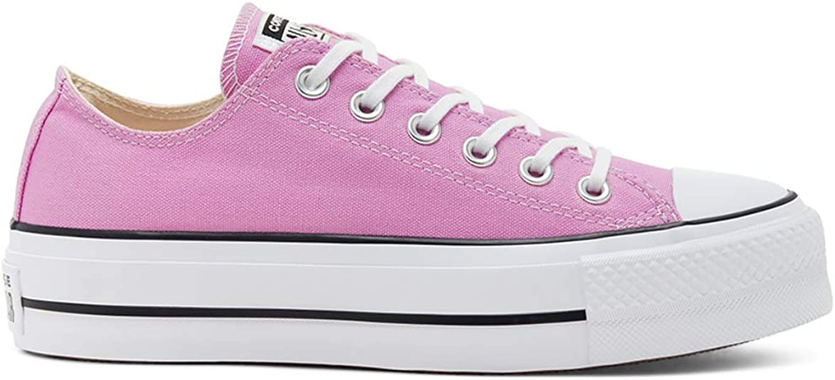 Converse Chuck Taylor All Star Lift Ox Peony Rose Fonce