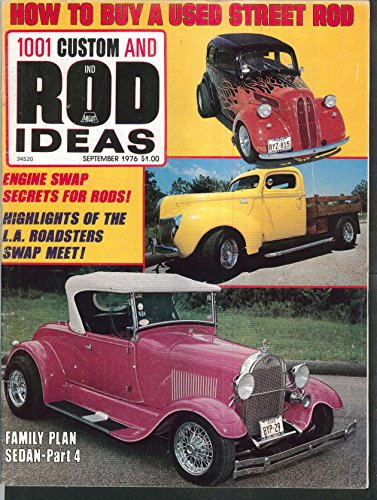 CUSTOM & ROD IDEAS Engine Swaps LA Roadsters Swap Meet Corvair Suspension 9 1976 (Swap Meet Magazine)