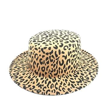 LIHAIBOHF-EUO Sombrero de Fedora del Sombrero de Las Lanas de ...