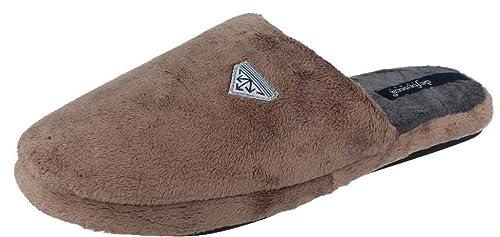 timeless design 768c5 7c998 DE FONSECA ciabatte pantofole da ragazzo invernali mod. WARM UI60C tortora