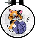 Dimensions Needlecrafts Counted Cross Stitch, Cute Kitty