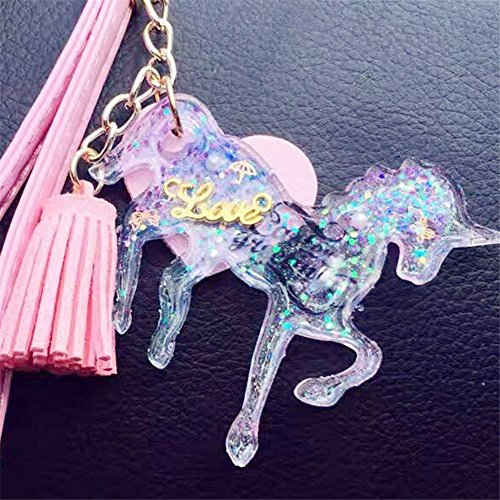 Unicorn-Shaped Silicone Jewelry Molds, Pendant Mold with Hanging Hole for Resin Epoxy,Earring Necklace Making and DIY Jewelry Craft Making,Semi-Transparent