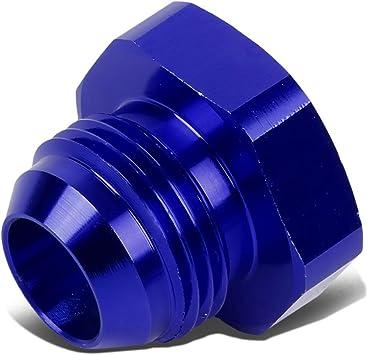 AN12 12AN AN-12 AN Bulkhead Nut Fitting Adapter Aluminum Blue