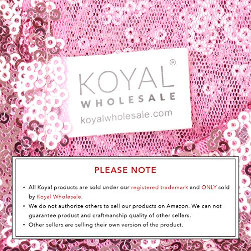 Review Koyal Wholesale Sequin Table