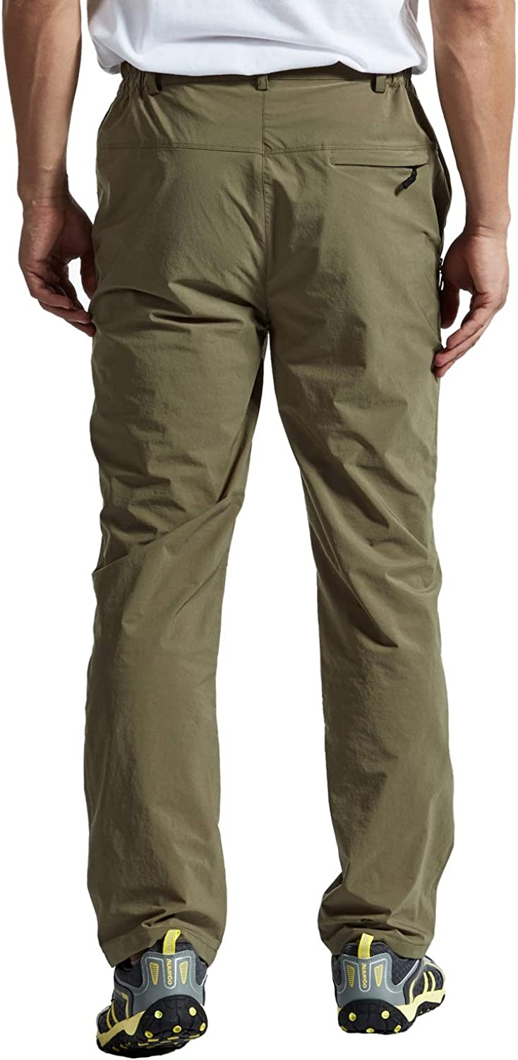 Rdruko Mens Outdoor Waterproof Stretch Hiking Climbing Mountain Travel Cargo Work Pants with Pockets