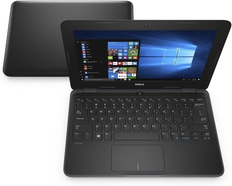Dell Latitude 11-3189 Intel Pentium N4200 X4 1.1GHz 8GB 128GB SSD,Black(Certified Refurbished)
