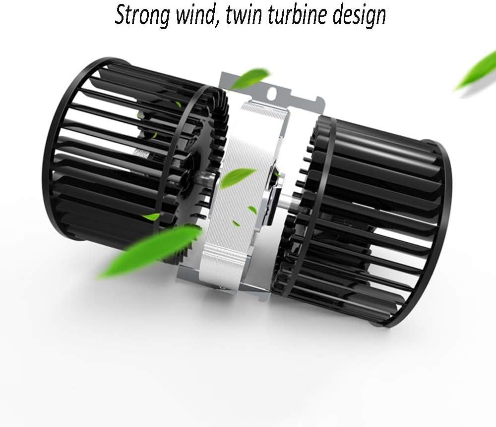 LJJL Elektrische ventilator, miniventilator zonder lemmet, stil, voor thuis, op kantoor, klein, turbineventilator voor kantoor, hoge snelheid (6 kleuren optioneel) C C nOFrdTKl