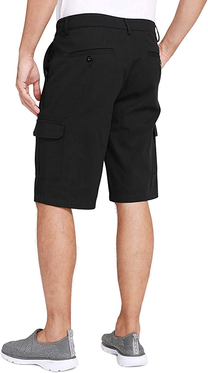 CAMEL CROWN Pantalones Cortos para Hombre Cargo Shorts Algod/ón Pantalones de Trabajo Verano Pantal/ón Corto de Moda Casual Multi-Bolsillo