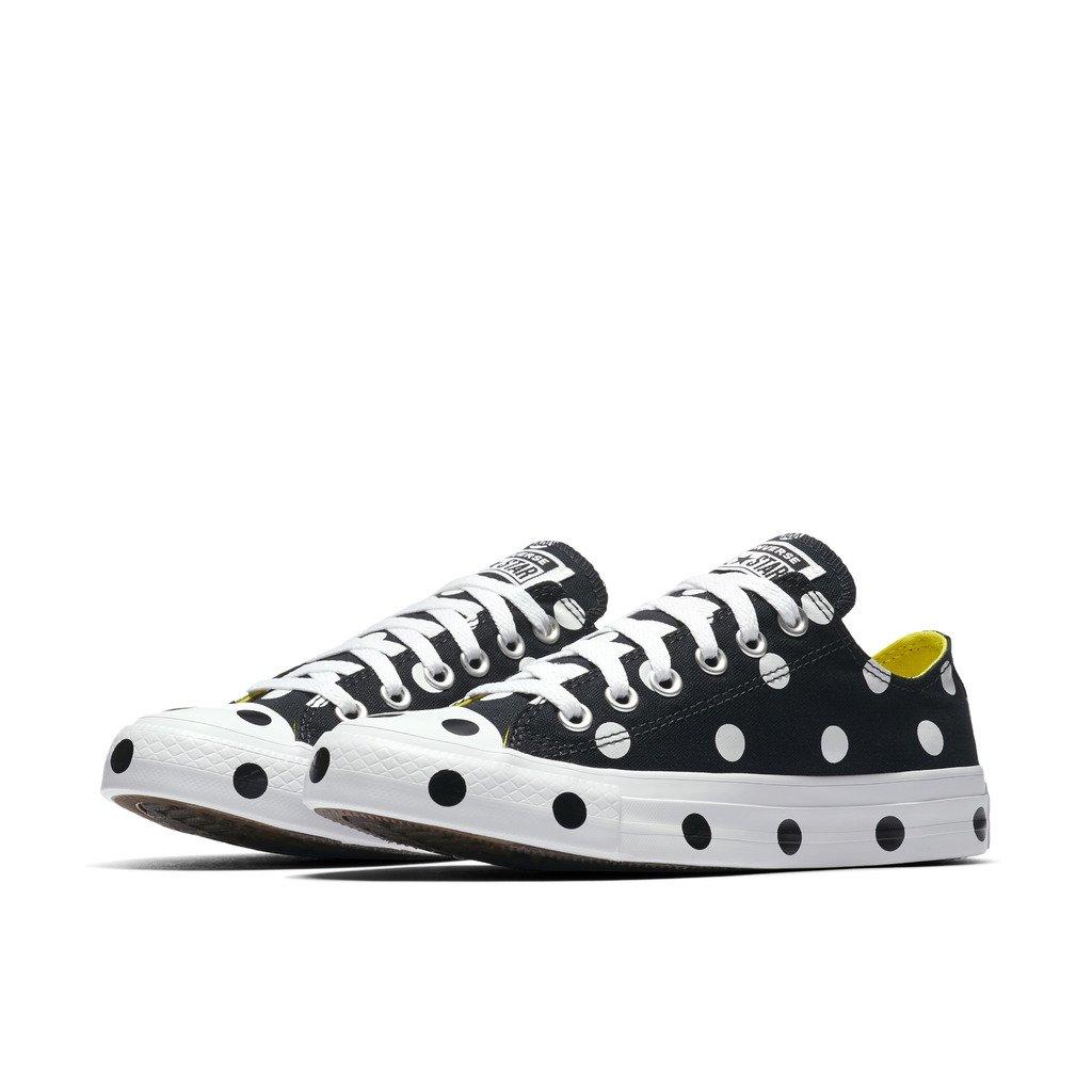 Converse CTAS OX Womens Fashion-Sneakers B076T9Q97P 7.5 B(M) US Black/White/Fresh Yellow
