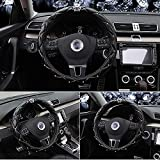 Queen's Auto Steering Wheel Cover with Noble Crown