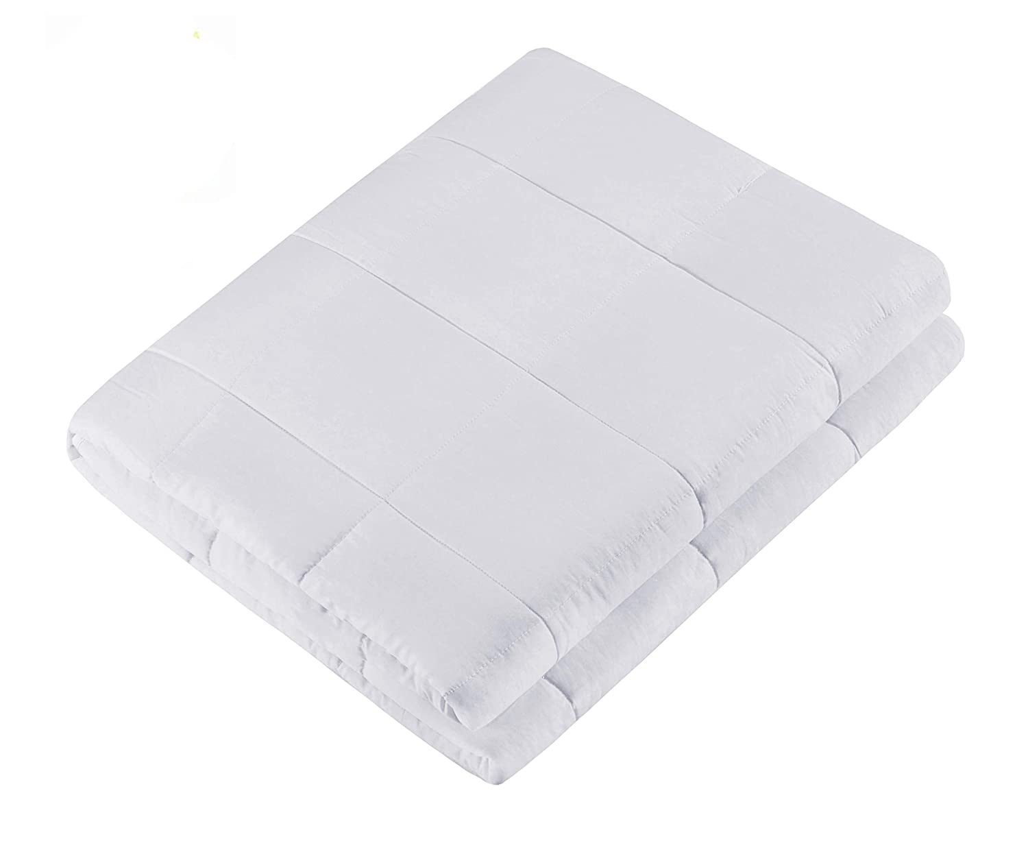 Removable Duvet Cover for Weighted Blanket Washable Cover Natural Cotton - Comfortable, Breathable, Soft and Extremely Durable Queen Size 60''x80'' Anyway