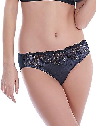 89ef401c7f9d2 Wacoal Lace Affair Brief in Graphite Black OR Frappe Cappuccino (WA846256)