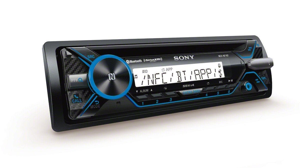 Sony Mex M71bt Marine Cd Receiver With Bluetooth And Car Stereo Besides Wiring Harness Diagram As Well Siriusxm Ready Cell Phones Accessories