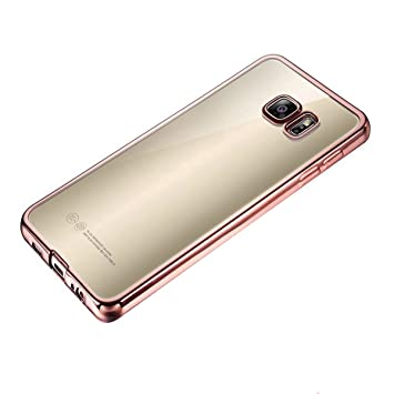 coque samsung s7 edge or rose