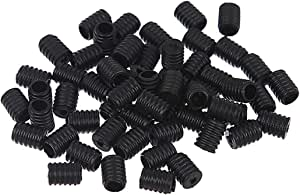 Cord Locks Silicone Toggles for Drawstrings Elastic Cord Adjuster Non Slip Stopper White&Black 200PCS/…