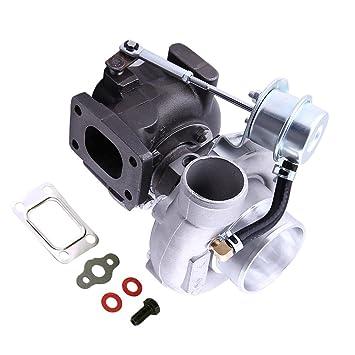 maXpeedingrods gt2871 GT2860 T25 T28 Brida Racing Turbo 240sx S13 S14 SR20 CA18DET agua Ar .64 Tuning 400hp pequeño Turbocompresor Universal: Amazon.es: ...