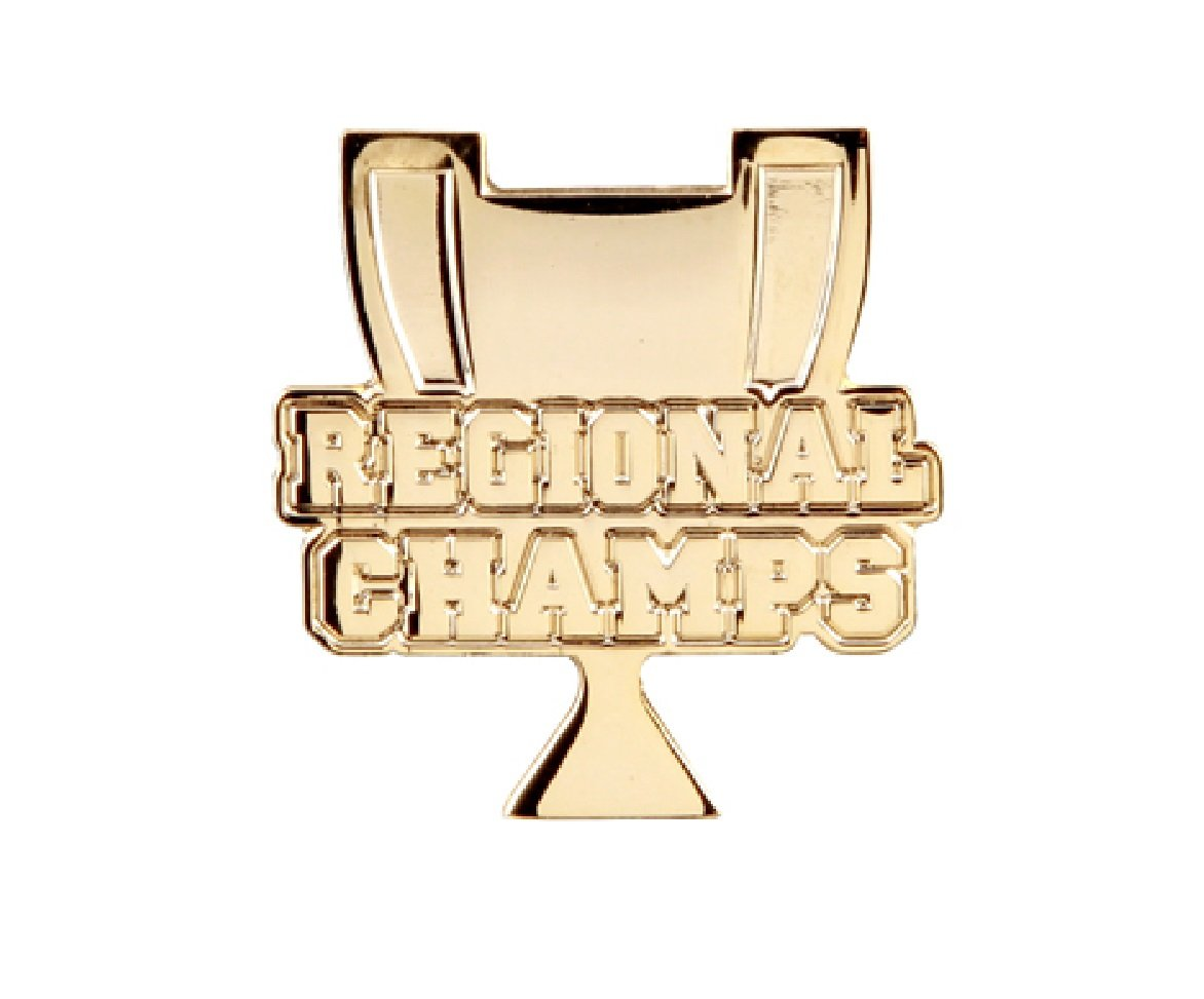 Pack of 100 Regional Champs Lapel Pins