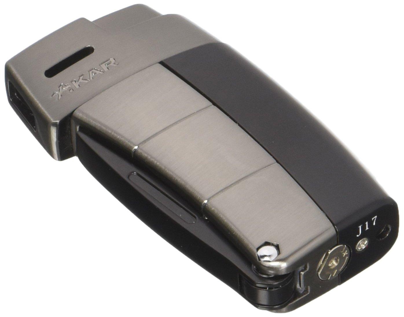 Xikar 9689BK Resource II Lighterwith Pipe Tools in Black