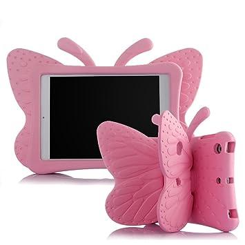 2a896e3293 3D Kids Cute Butterfly Rubberized Shockproof EVA Foam Stand Cover Case For  AppleiPad Mini 3/